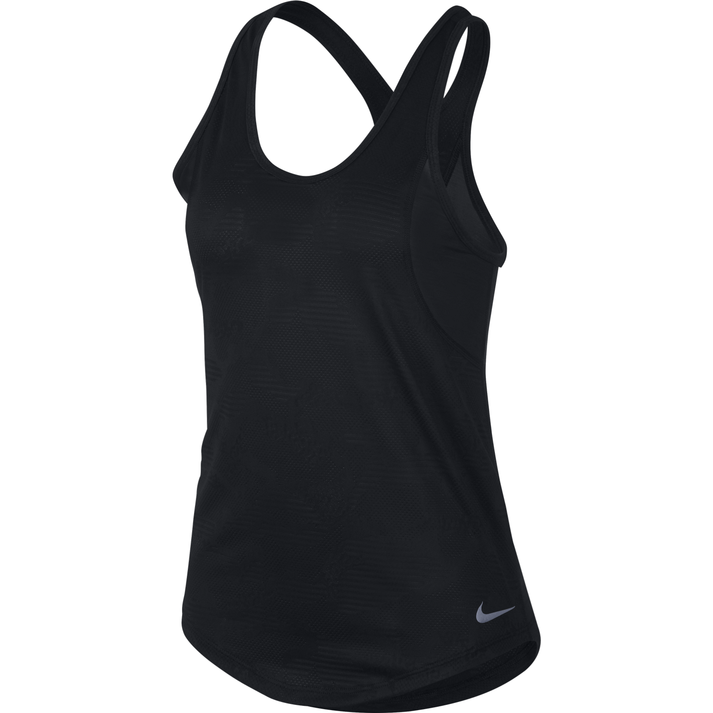 Nike W NK 10K JACQ TANK, majica, črna