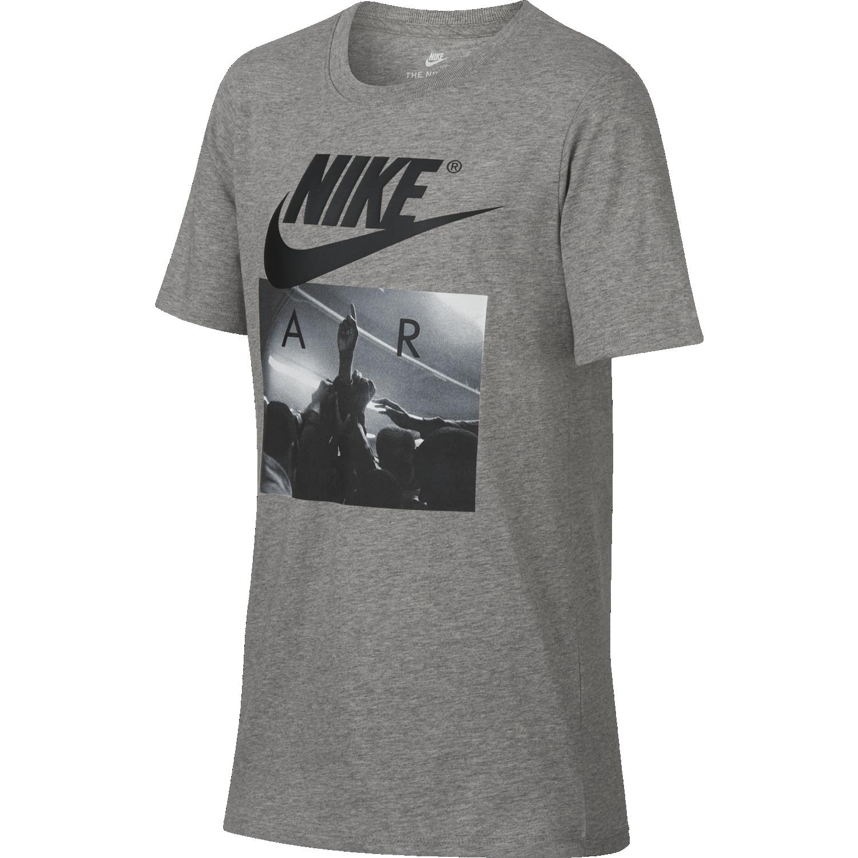 Nike B NSW TEE AIR HUDDLE, otroška majica, siva
