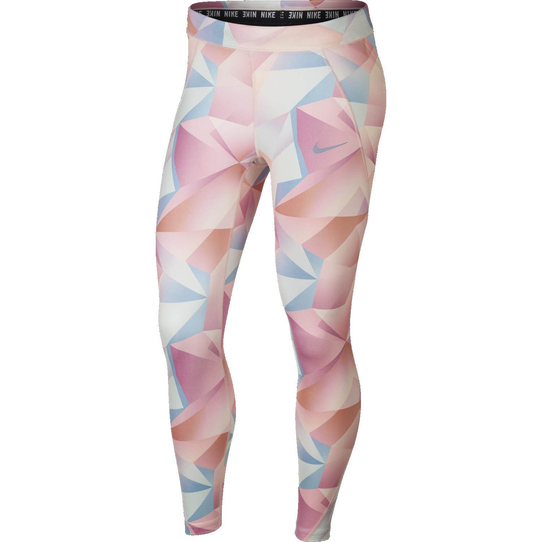 Nike W NK SPEED TGHT 7_8 PR, ženske tekaške pajke, večbarvno