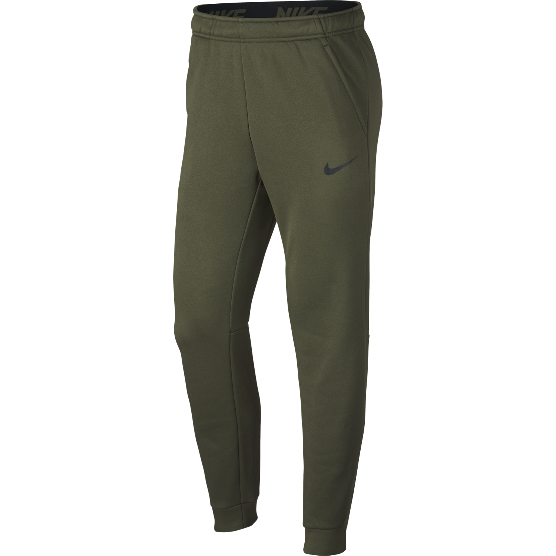 Nike M NK THRMA PANT TAPER, moške hlače, zelena