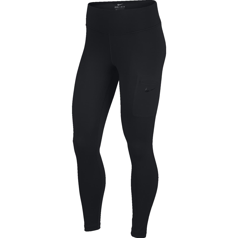 Nike W NK PWR HPR TGHT, pajke ž.fit, črna