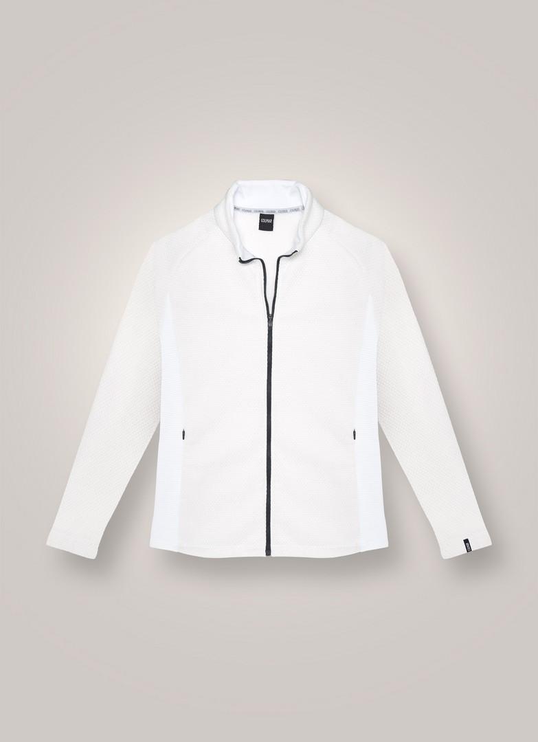 Colmar MD93623SX, pulover ž.kap.smu, bela
