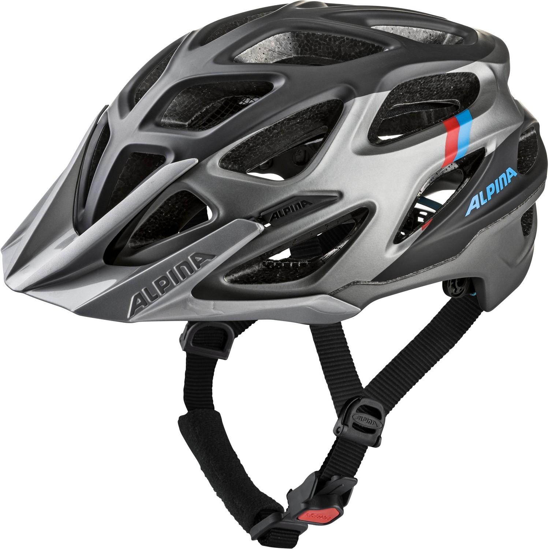 Alpina MYTHOS 3.0 LE, kolesarska čelada, srebrna