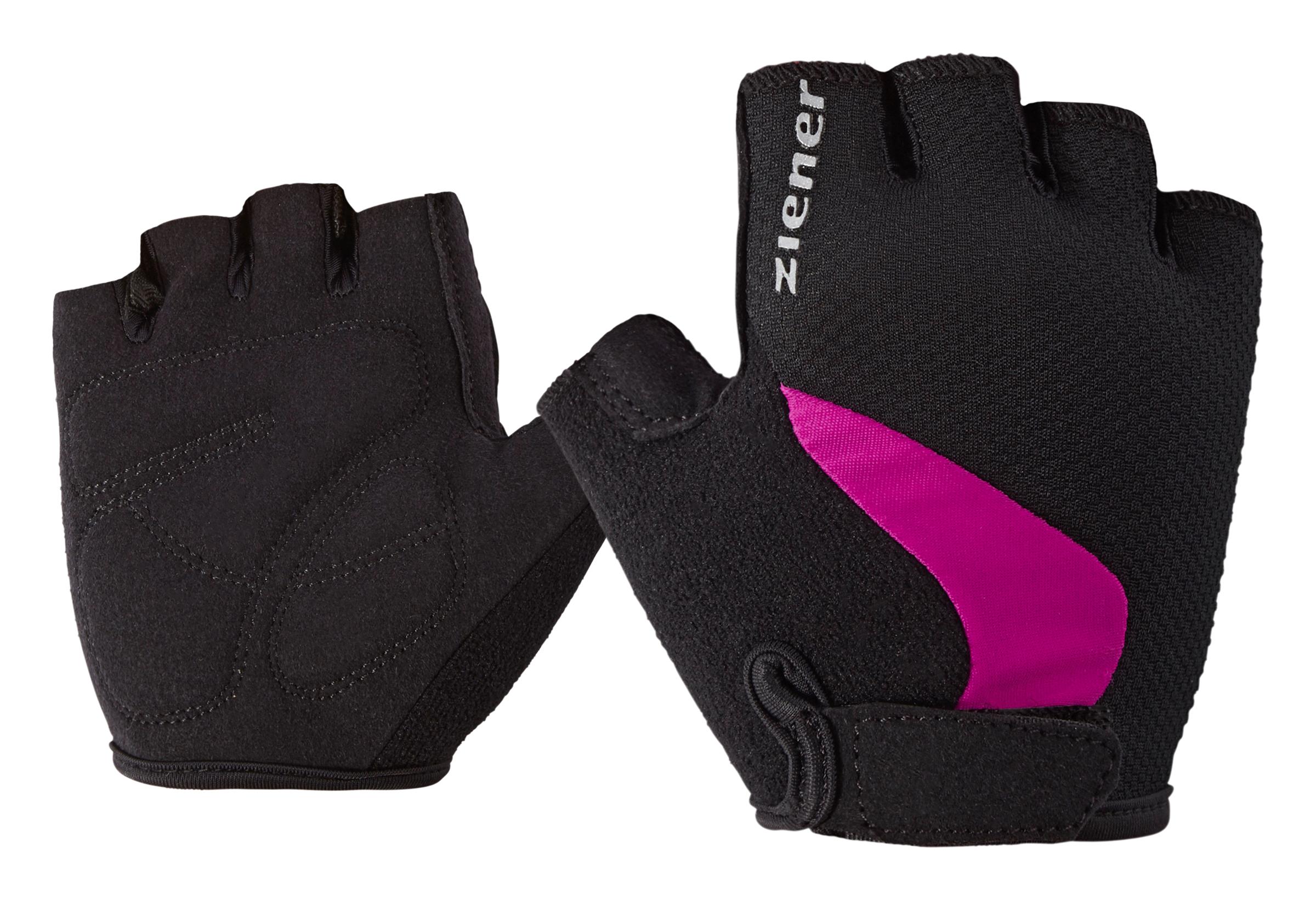 Ziener CRIDO JUNIOR, rokavice o.kol, roza