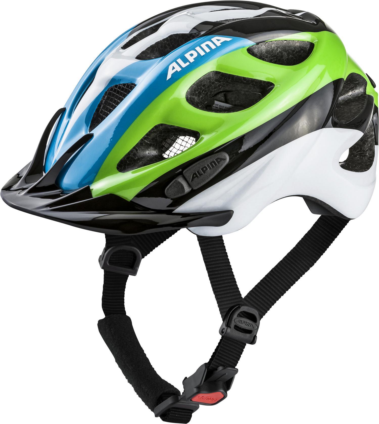 Alpina ROCKY, otroška kolesarska čelada, črna