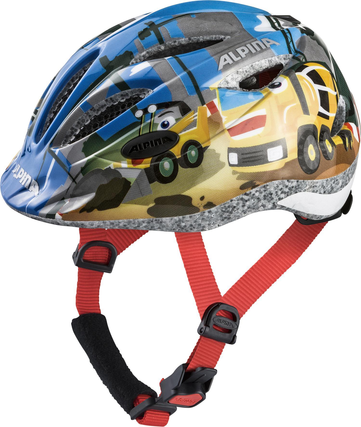 Alpina GAMMA 2.0, otroška kolesarska čelada, večbarvno