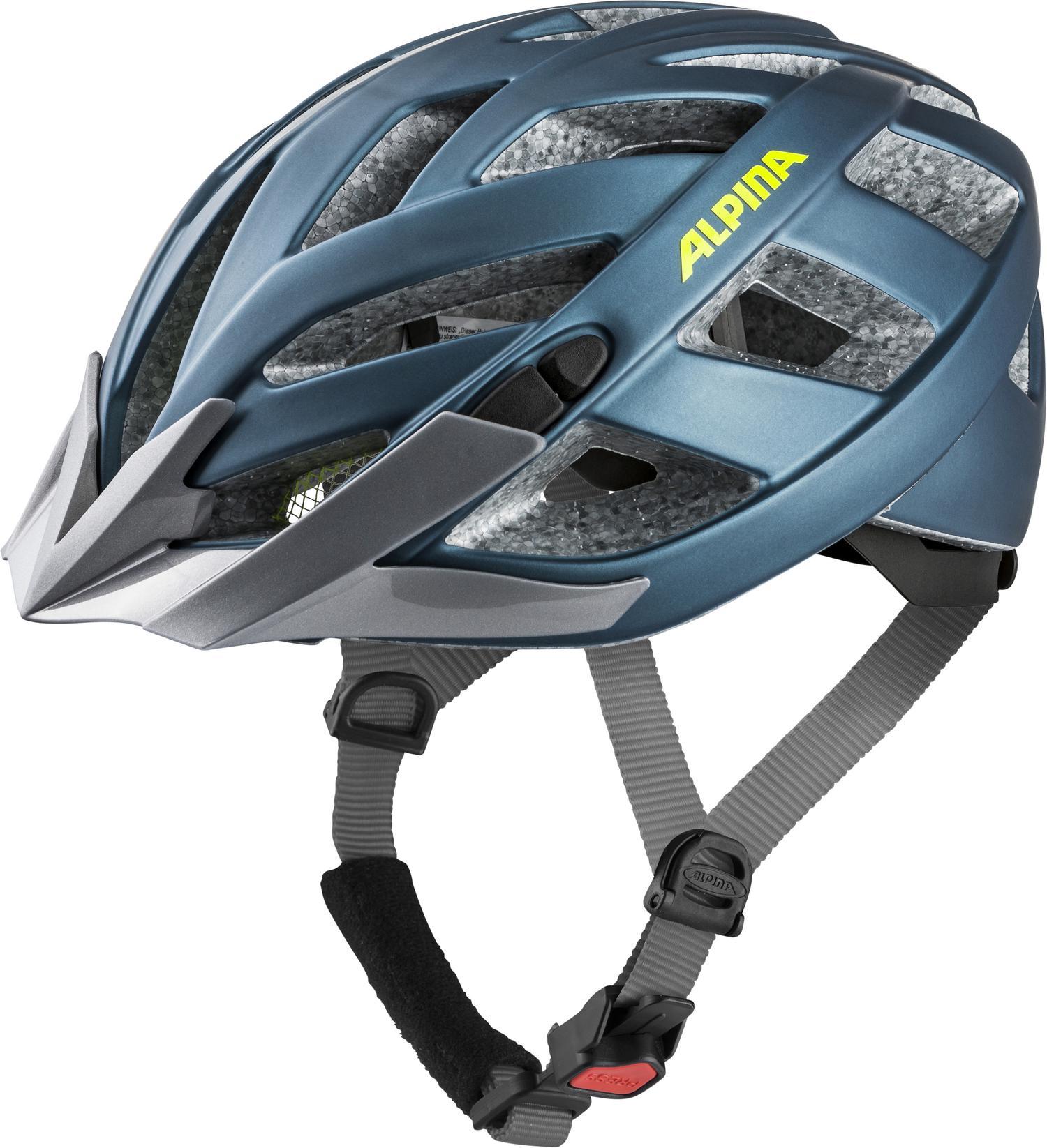 Alpina PANOMA 2.0 LE, kolesarska čelada, modra
