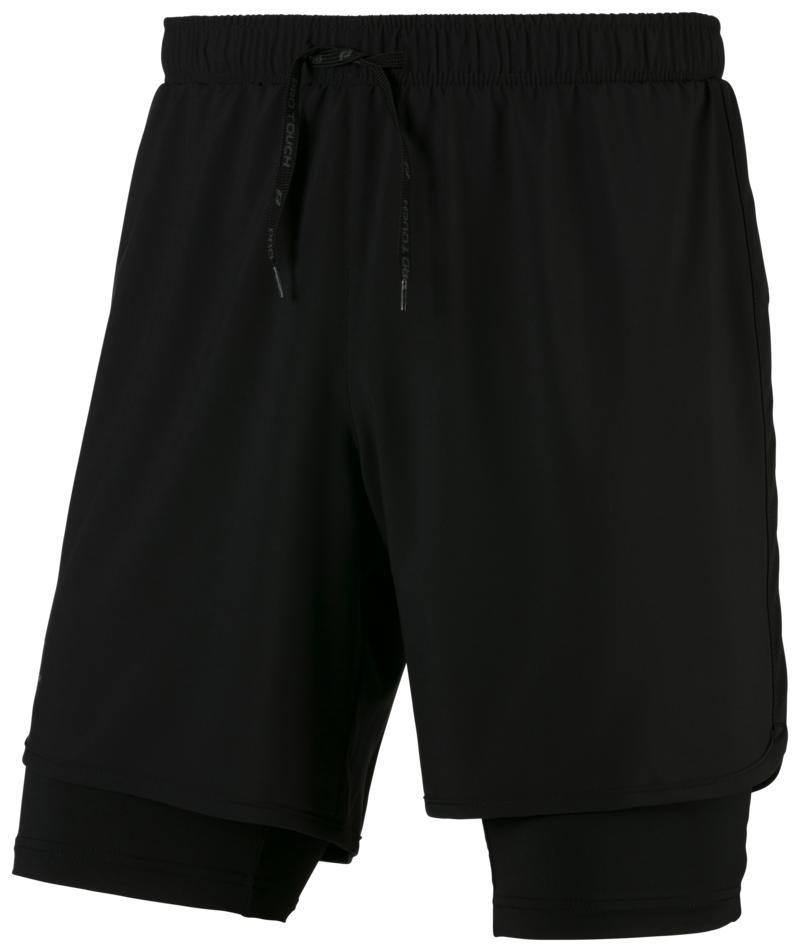 Pro Touch ALLEN III UX, moške kratke tekaške hlače, črna