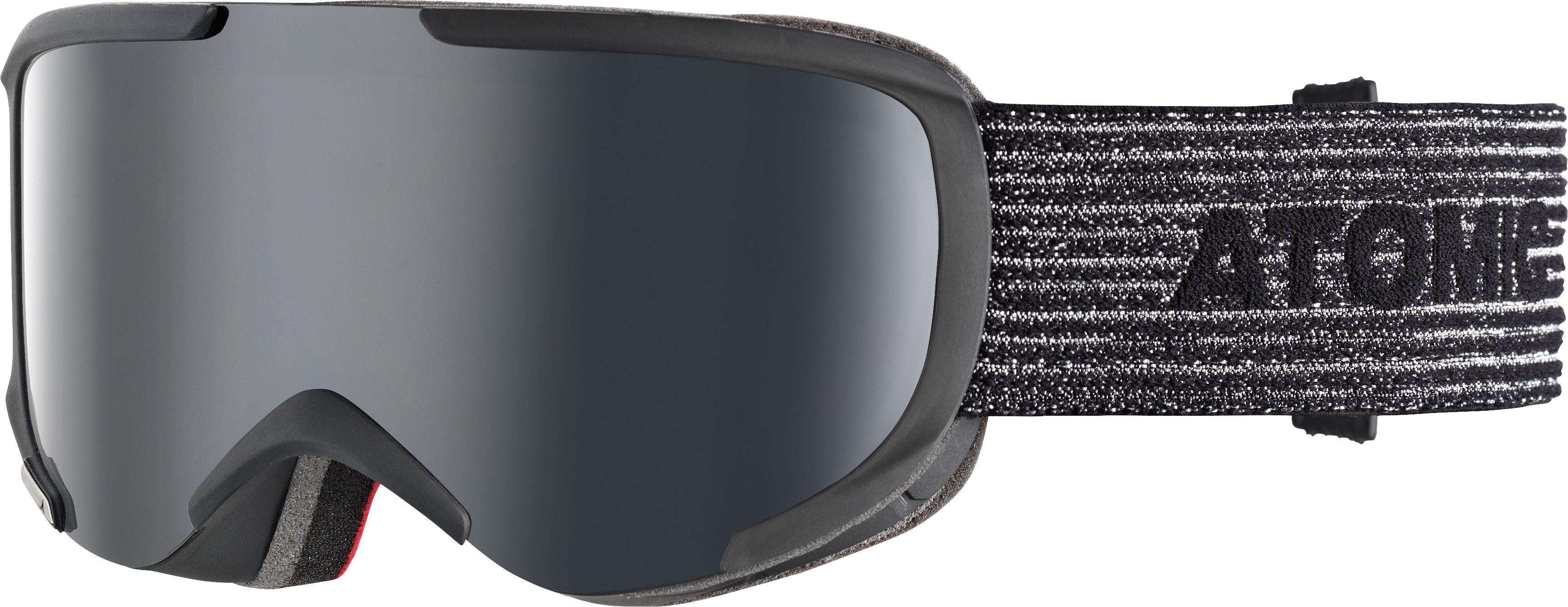 Atomic SAVOR S STEREO, smučarska očala, črna
