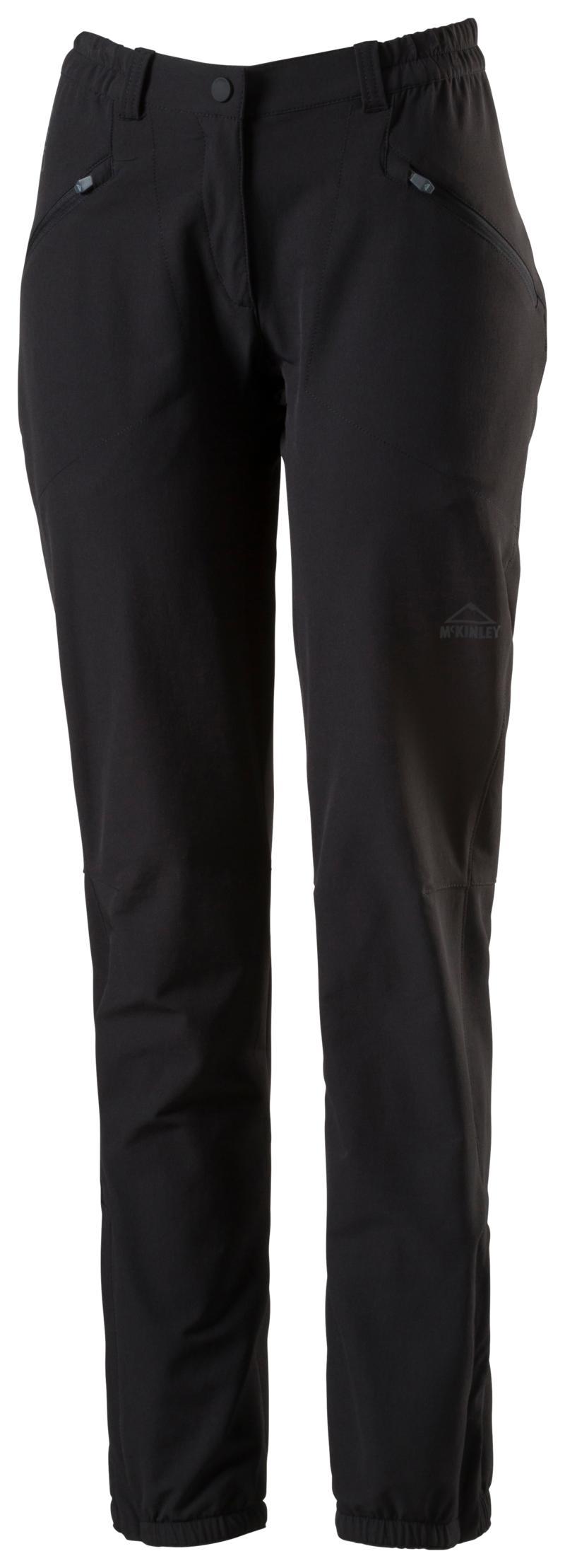 McKinley BEIRA III WMS, ženske pohodne hlače, črna