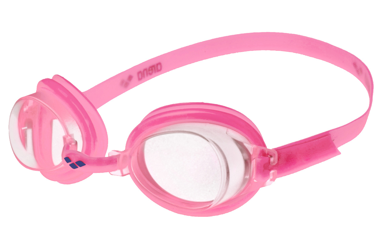 Arena BUBBLE 3 JR, otroška plavalna očala, roza