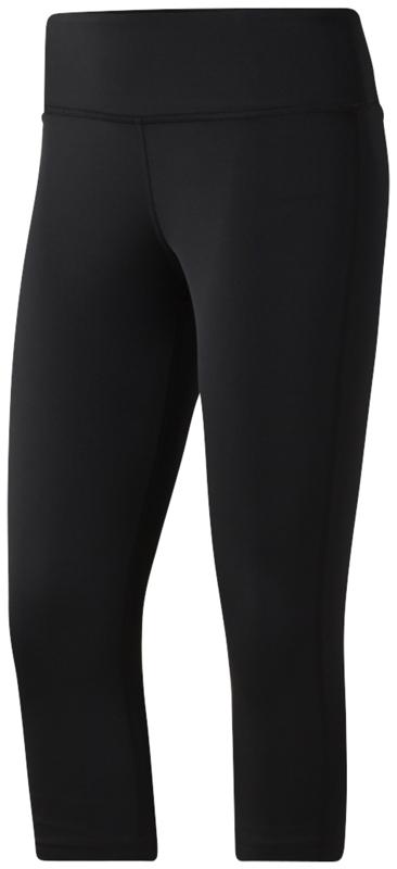 Reebok CE1221, ženske fitnes hlače, črna