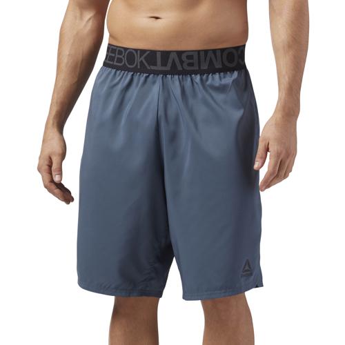 Reebok COMBAT BOXING SHORT, moške fitnes hlače, modra