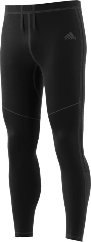 Adidas RS LNG TIGHT M, moške tekaške pajke, črna