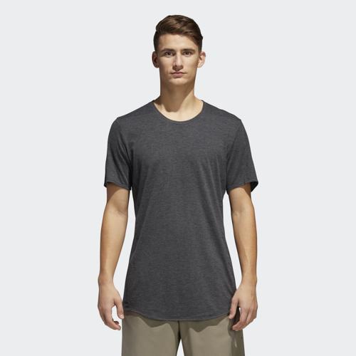 adidas SN SS PURE TEE, moška tekaška majica, siva