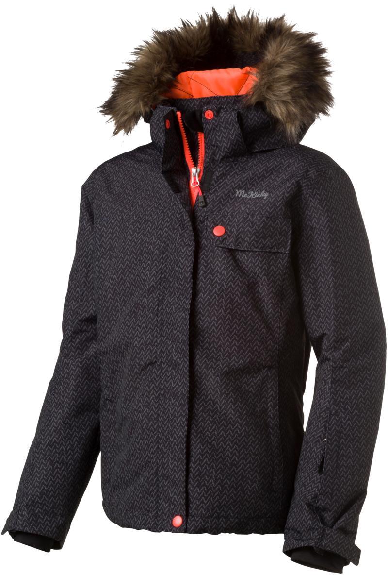 McKinley CHRISTINA GLS, otroška smučarska jakna, črna
