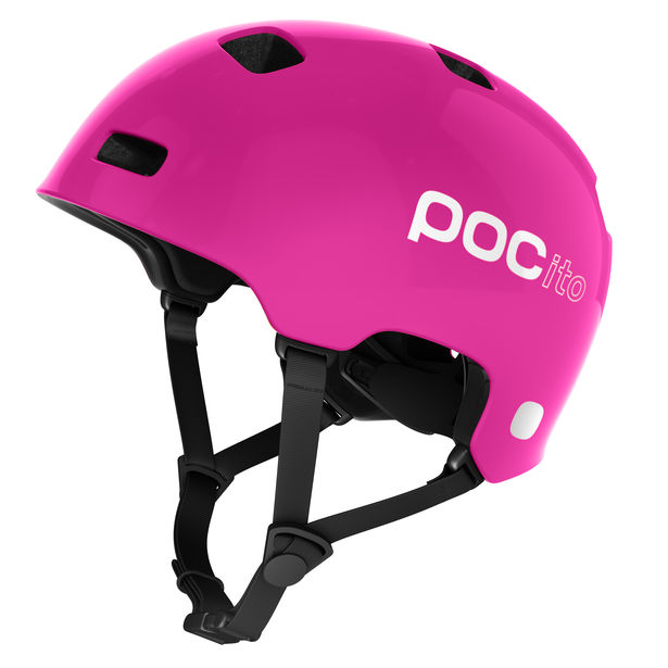 Poc POCITO CRANE, otroška kolesarska čelada, roza
