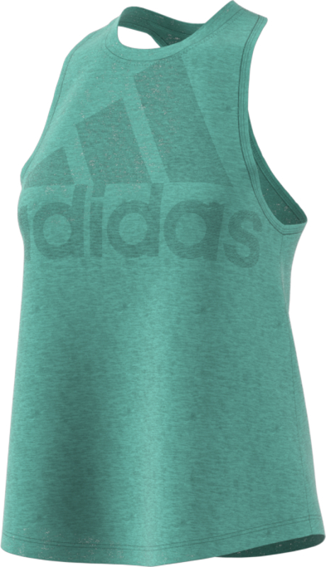 adidas MAGIC LOGO TANK, majice, zelena