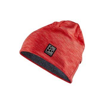 Craft MICROFLEECE PONYTAIL HAT, moška kapa, rdeča