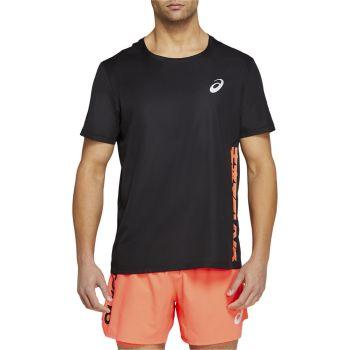 Asics FUTURE TOKYO VENTILATE SS TOP, moška tekaška majica, črna