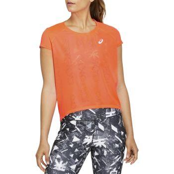 Asics FUTURE TOKYO VENTILATE SS TOP, ženska tekaška majica, oranžna