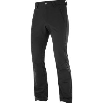 Salomon WAYFARER WARM PANT, moške pohodne hlače, črna