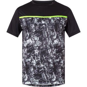 Energetics AKSEL II UX, moška tekaška majica, črna