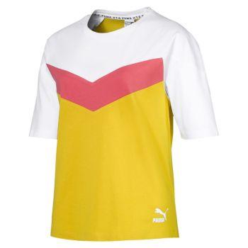 Puma XTG COLORBLOCK TEE, ženska majica, rumena