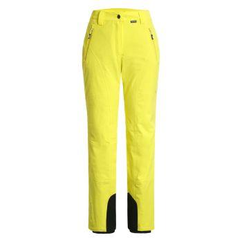 Icepeak FREYUNG, ženske smučarske hlače, rumena