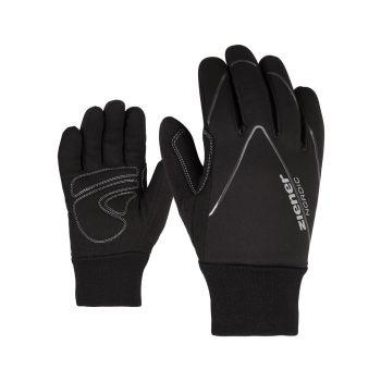 Ziener UNICO, otroške rokavice, črna