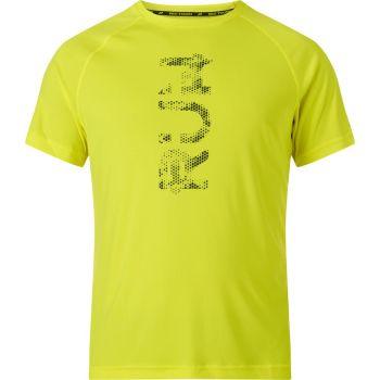 Pro Touch BONITO IV UX, moška tekaška majica, rumena