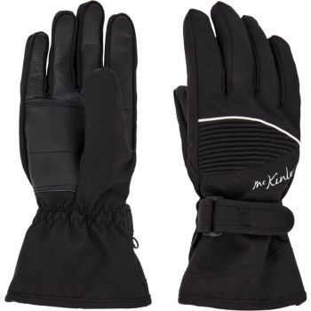 McKinley BRENNA WMS, ženske smučarske rokavice, črna