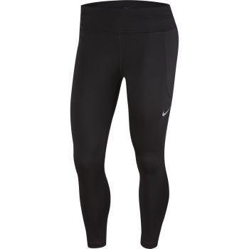 Nike W NK FAST CROP MR, ženske tekaške 7/8 pajke, črna