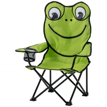 McKinley CAMP CHAIR KIDS, stol, zelena