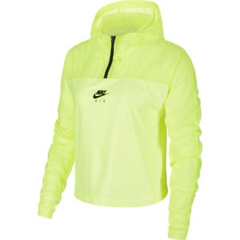 Nike W NK AIR JKT HD, ženska tekaška jakna, zelena