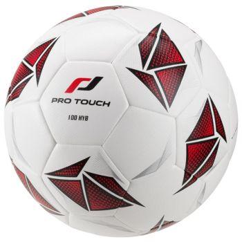 Pro Touch FORCE 100 HYB, nogometna žoga, bela