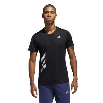 adidas RUN IT TEE PB, moška tekaška majica, črna