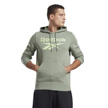 Reebok RI FT OTH BL HOODIE, pulover m.fit, zelena