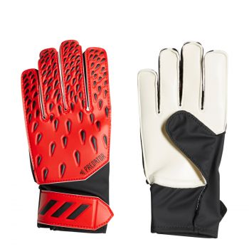 adidas PRED GL TRN J, otroške nogometne rokavice, rdeča