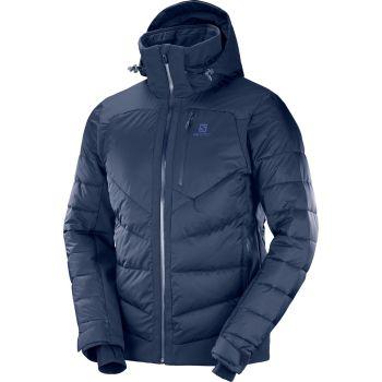 Salomon ICESHELF JKT M, moška smučarska jakna, modra