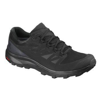 Salomon OUTLINE GTX, pohodni čevlji, črna