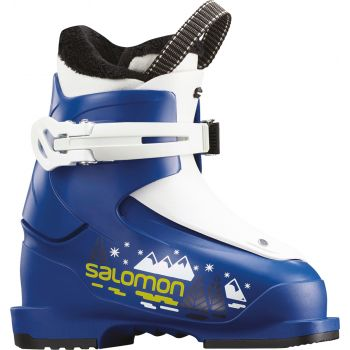 Salomon T1 RACE, otroški smučarski čevlji, modra