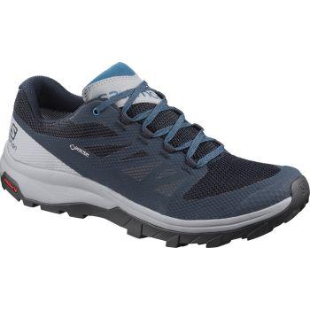 Salomon OUTLINE GTX, pohodni čevlji, modra