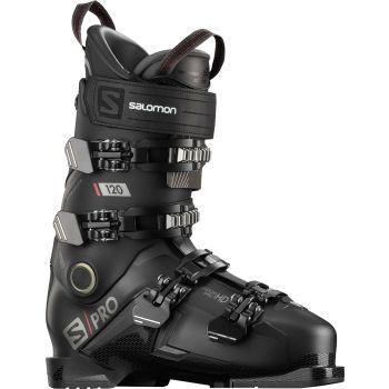 Salomon S/PRO 120, moški smučarski čevlji, črna