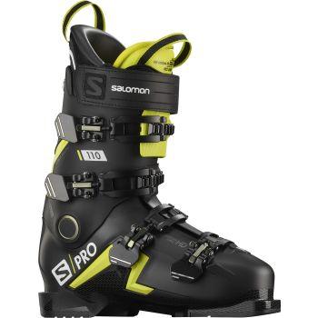 Salomon S/PRO 110, moški smučarski čevlji, črna