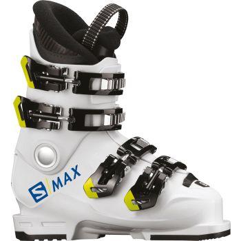 Salomon S/MAX 60T L, otroški smučarski čevlji, bela