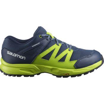 Salomon HUAPI CSWP J, pohodni čevlji, modra