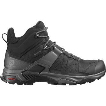 Salomon X ULTRA 4 MID GTX, moški pohodni čevlji, črna