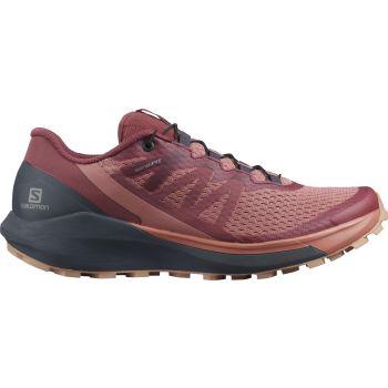 Salomon SENSE RIDE 4 W, ženski tekaški copati, rdeča