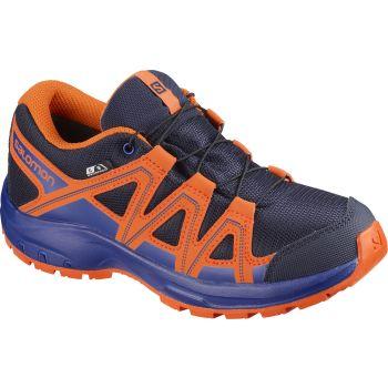 Salomon KICKA J CSWP, pohodni čevlji, modra